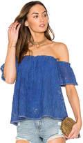 Heartloom Ilaria Top in Blue