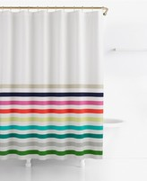 "Kate Spade Candy Stripe Cotton 72"" x 72"" Shower Curtain"