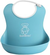 BABYBJÖRN Soft Bib - Orange/Turquoise - 2 ct