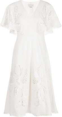 Sachin + Babi Luciana embroidered dress