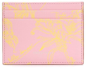 Emilio Pucci Floral Print Cardholder