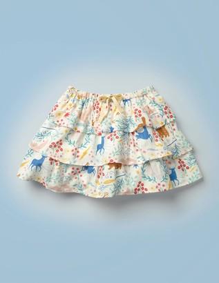 Patronus Tiered Ruffle Skirt