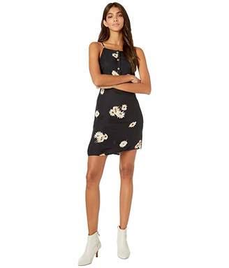 Volcom In The Wind Dress (Black) Women's Clothing