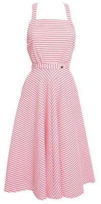 Lilliput & Felix - Artemis Multi Tie Dress Red Candy - extra-small