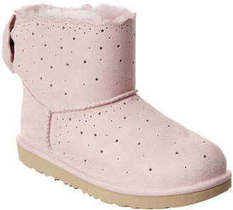 UGG Kids Mini Bailey Bow Ii Starry Lite Suede Boot