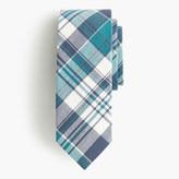 J.Crew Cotton tie in blue plaid