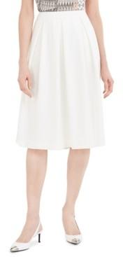 Calvin Klein Scuba Crepe Midi Skirt