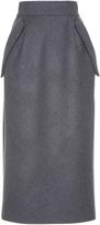 Dice Kayek Midi Wool Pencil Skirt