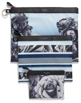 Ted Baker Floral Pouch Set - Blue