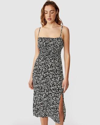 Cotton On Woven Melody Strappy Midi Dress