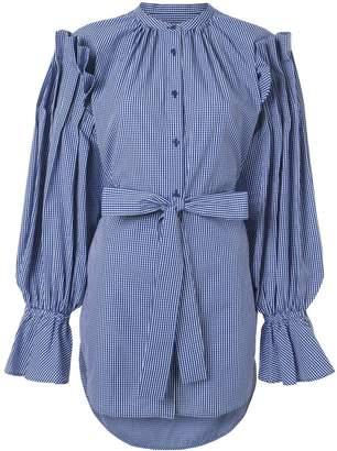 Enfold belted shirt