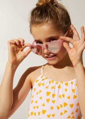 MANGO Heart-shape sunglasses