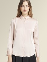 DKNY Silk Button Up