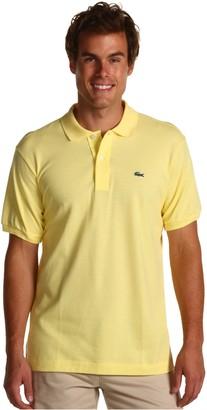 Lacoste Men's Short Sleeve L.12.12 Pique Polo Shirt