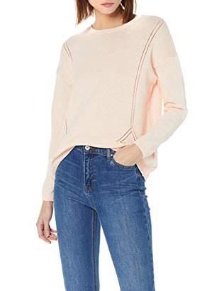 Yargıcı Womens 9YKTR2015X Round Collar Long Sleeve Jumper - Pink - Large