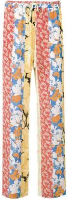 Stine Goya Aileen floral print trousers