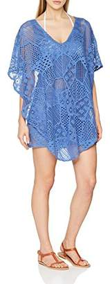 Lola Casademunt Women's Ariadna Dress, (Blue Azul), Large