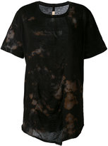 Raquel Allegra tie dye T-shirt - women - Cotton/Polyester - 2