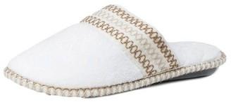 Muk Luks Women's Cathy Micro Chenille Closed Toe Slippers