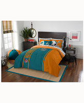 Northwest Company Miami Dolphins 7-Piece Full Bed Set