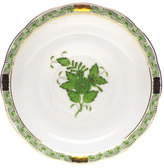 Herend Green Chinese Bouquet Saucer
