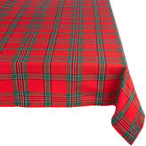 DESIGN IMPORTS Design Imports Holiday Plaid Tablecloth
