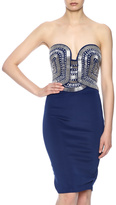 Wow Couture Heavy Beaded Dress