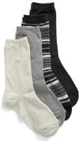 Calvin Klein 'Light Sparkle' Crew Socks (4-Pack)