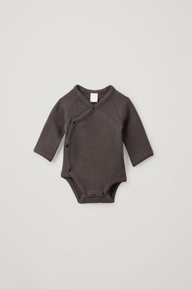 Cos Printed Organic Cotton Babygrow