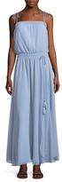 Love Sam Smocked Strapless Maxi Dress