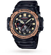 G-Shock Gulfmaster Master Of G Vintage Black And Alarm Chronograph Watch
