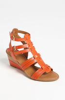 Franco Sarto 'Era' Wedge Sandal Orange 9 M