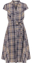 Phase Eight Willa Check Linen Dress
