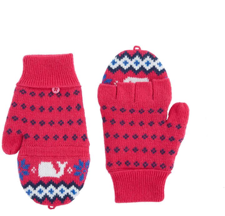 f4f811661b Girls Fairisle Knit Glittens