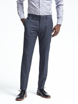 Banana Republic Slim Blue Performance Wool Pant