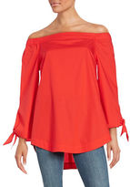 Free People Off-the-Shoulder Cotton Tunic