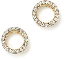 Bloomingdale's Diamond Circle Stud Earrings in 14K Yellow Gold, .20 ct. t.w. - 100% Exclusive