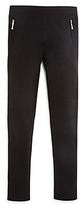 Kate Spade Girls' Ponte Zip Detail Leggings - Big Kid