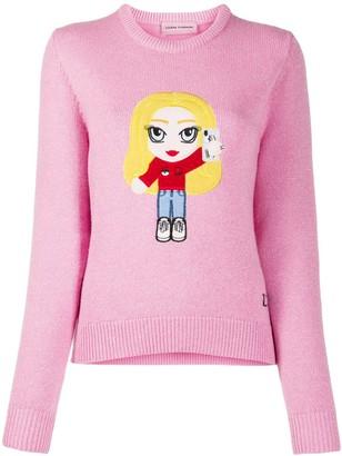 Chiara Ferragni Embroidered Girl Jumper