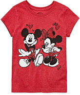 Disney Collection Short-Sleeve Love Graphic Tee - Girls 7-16