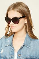 Forever 21 FOREVER 21+ Gradient Cat Eye Sunglasses