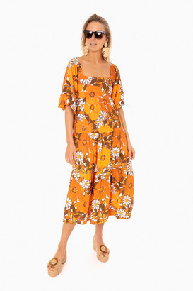 Faithfull Kiona Midi Dress