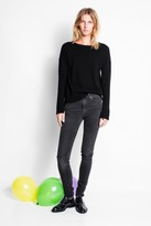 Zadig & Voltaire Cici Patch Cashmere Sweater