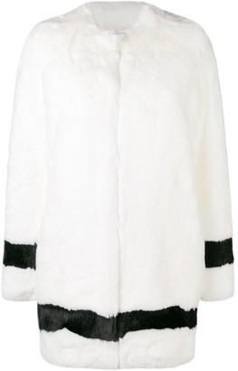 La Seine & Moi Petra faux-fur coat