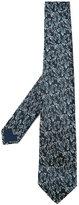 Lanvin leaf pattern tie - men - Silk - One Size