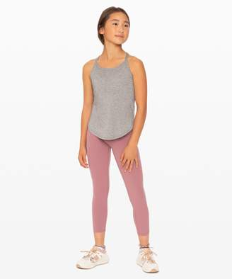 Lululemon Serene Heart Tank - Girls