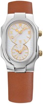 Philip Stein Teslar Women's Small Signature Dual Time Zone Watch