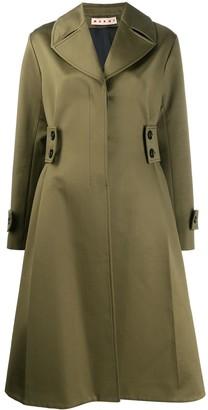 Marni Flared Midi Coat