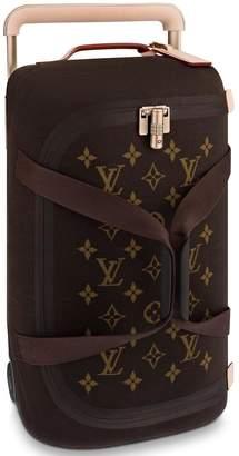 Louis Vuitton Horizon Duffle Soft Jacquard 55 Brown