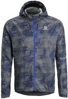 Salomon Fast Wing Sports Jacket Dove Grey/dark Cloud/blue Yonder
